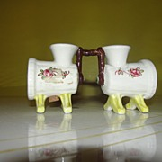 Old Time Grinder Salt and Pepper Shakers