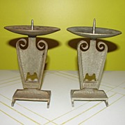 Arts and Crafty Pillar Candle Holders