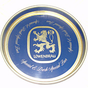 "Lowenbrau ""Special and Dark Special'' Beer Tray"
