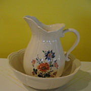 McCoy Wash Stand Pitcher and Bowl #7529