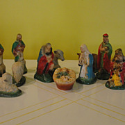 Christmas 12 Piece Nativity Set