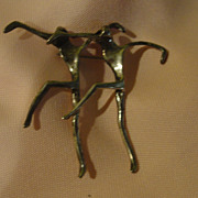 High Stepping Modernist Pin - Free shipping