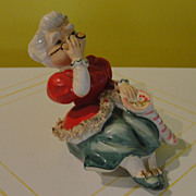 Lefton Mrs Clause shelf Sitter