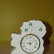 Donegal Purian China Irish Isle Clock