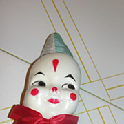 Clown Face Doll