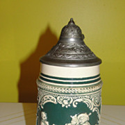 German .5 Liter Beer Stein