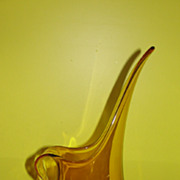 Harvest gold Viking Glass Pitcher/ewer
