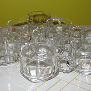 Orchard Crystal Punch Cups