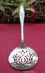 Vintage Silver Reticulated Server