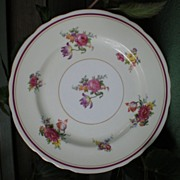 Vintage Bone China Dinner Plate Aynsley England