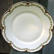 Antique Haviland Limoges Plate Schleiger 874