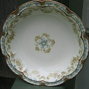 Antique Haviland Limoges Shallow Bowl Schleiger 271