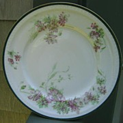 Antique Haviland Limoges Plate Schleiger 656