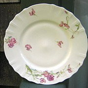 Antique Haviland Limoges Plate  Schleiger 835 Lavender