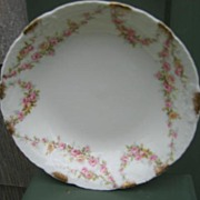 Antique Haviland Limoges Berry / Sauce Bowl Schleiger 145 Rose Garlands