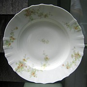 Antique Haviland Limoges Shallow Bowl Blank Schleiger 126