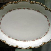 Antique Haviland Limoges Large Platter Schleiger 856