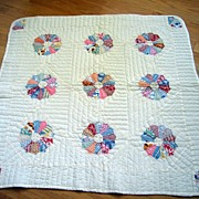 Quilt  - Hand Pieced And Hand Quilted