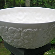 SOLD Beautiful Spode Embossed Bowl - Spode Imperial Fancies