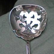 Sterling Silver Reticulated Bon Bon Spoon Manchester