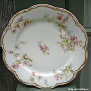 Antique Haviland Limoges Plate Schleiger 91