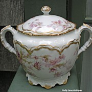Antique Haviland Limoges Sugar Bowl Schleiger 91