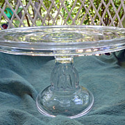 Antique Pedestal Based Cake Stand