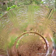 Depression Glass Berry Set American Sweetheart 7 Pieces
