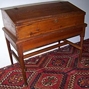 REDUCED American Early Desk on Frame Ca. 1720