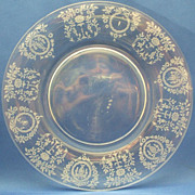 "Tiffin Cherokee Rose 8"" Luncheon Plate"