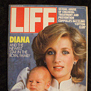 Life Magazine December 1984 Princess Diana & Prince Harry Newborn