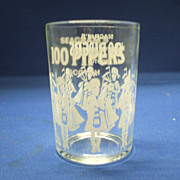 100 Pipers Seagram's Scotch Shot Glass