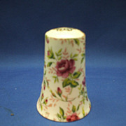 Lefton Rose Chintz Single Shaker Salt 7 Hole