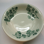 Sterling China Restaurant Ware Green Herbs Sauce Bowl