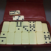 Pavilion Dominoes Double 6 Sixes Set of 27+2