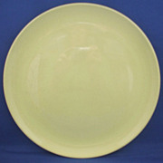 Pebbleford Sunburst Yellow Dinner Plate Taylor, Smith & Taylor
