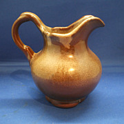 Frankoma Brown Satin Small Pitcher