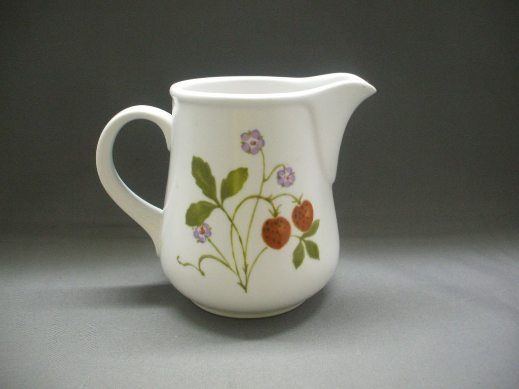 Noritake Berries 'N Such 9070 Creamer Progression China