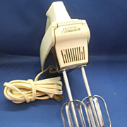 Sunbeam Mixmaster H-1 Hand Held Electric Mixer