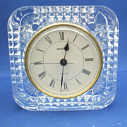 West Germany Crystal Clock France