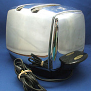 Sunbeam T-35 Radiant Control Toaster Chrome