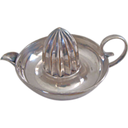Elegant  Silver Plate Citrus Reamer