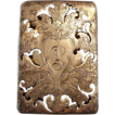 "*Circa 1890's: Reed and Barton Sterling Silver Scent Box,Engraved "" A """