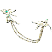 Early 1940's: Unsigned  Urie Mandel Dancing Sprites Chatelaine
