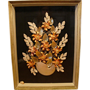 Vintage 1930's: Shell Art Shadow Box