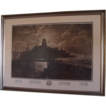 "1887: Original Signed Etching of  Longfellow's "" The  Bridge "" by George McCord & John Henry Hill"