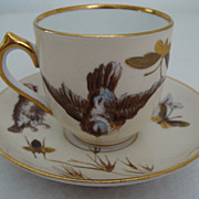 *1873-1918: Pirkenhammer Demitasse Cup and Saucer