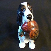 Royal Doulton # HN1062: Springer with Pheasant by Frederick Daws