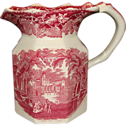 "*1890-1900: Early "" Vista "" Pattern, Masons Ironstone English Jug"