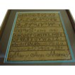 1841: Mary Ann Murray's School Sampler